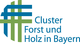 Logo Cluster Forst und Holz in Bayern