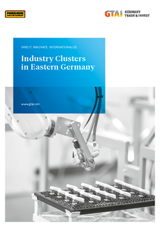 Cover Industry Clusters in Eastern Germany